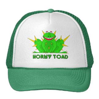 Sapo córneo gorras de camionero