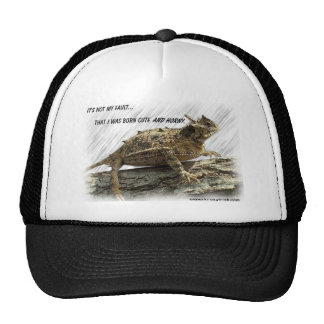 Sapo córneo gorras