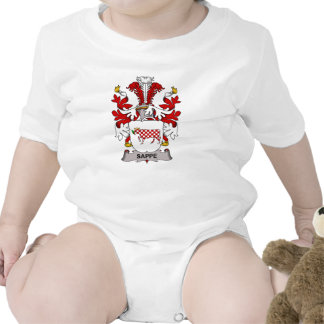 Sappe Family Crest Rompers