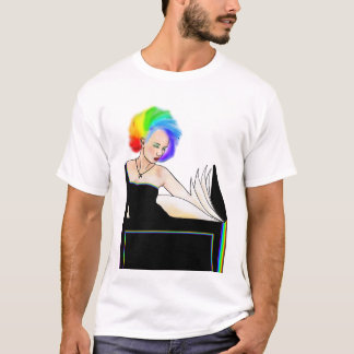 Sapphic Punk Rainbow T-Shirt