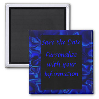 Sapphire 2 Inch Square Magnet