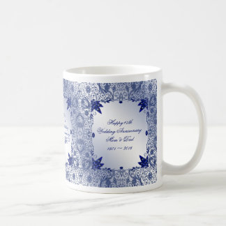 Sapphire 45th Wedding Anniversary Coffee Mug