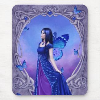 Sapphire Birthstone Fairy Mousepad