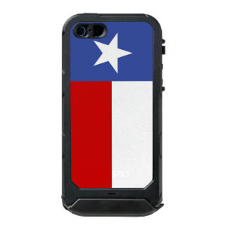 Sapphire Blue and Red Texas Flag Incipio ATLAS ID™ iPhone 5 Case
