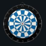 "Sapphire Blue Black And White Dartboard With Darts<br><div class=""desc"">Sapphire Blue Black And White Dart Board</div>"