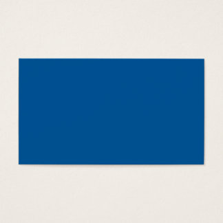 Sapphire Blue Personalized Dark Color Background Business Card