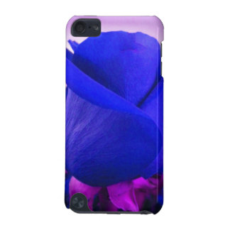 Sapphire Blue Rose Bud iPod Touch case