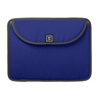 SAPPHIRE BLUE (solid color) ~ Sleeves For MacBook Pro