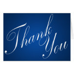 Sapphire Blue Thank You Cards