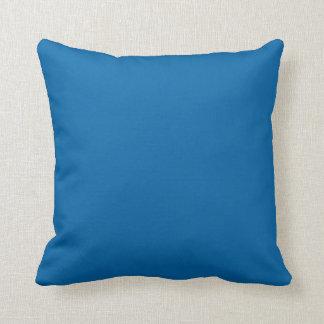 """Sapphire Blue"" Throw Pillows"