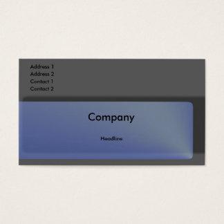 Sapphire Business Card