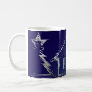 Sapphire Christmas night Coffee Mug
