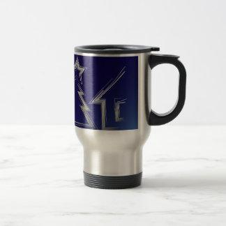 Sapphire Christmas night Travel Mug