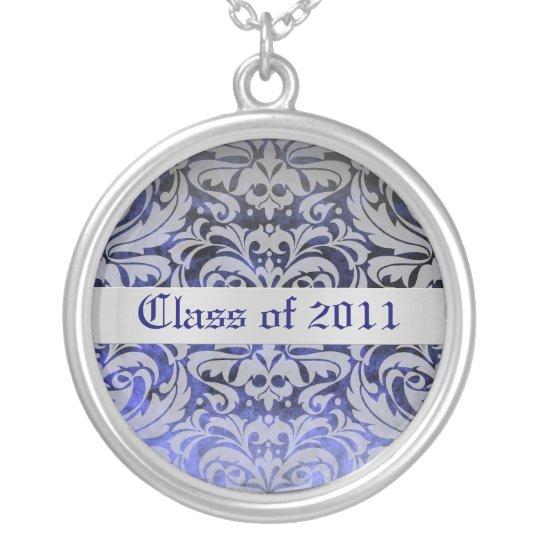 Sapphire Damask Class of Graduation Necklace