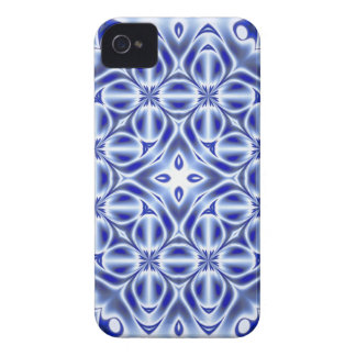 Sapphire Doily iPhone 4 Case-Mate Case
