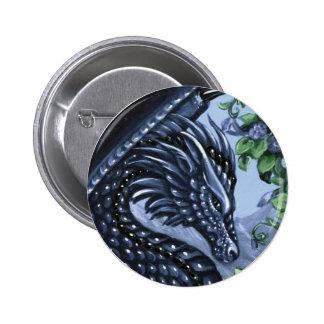 Sapphire Dragon Button