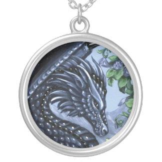 Sapphire Dragon Necklace