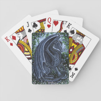 Sapphire Dragon September Birthstone Playing Cards