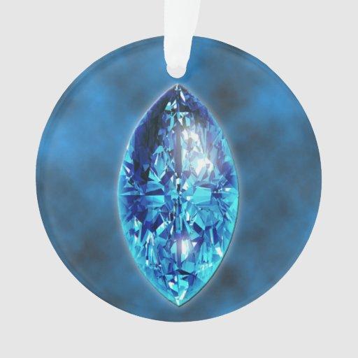 sapphire gemstone ornament zazzle