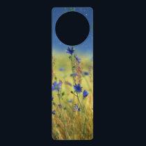 Sapphire & Gold Door Hanger