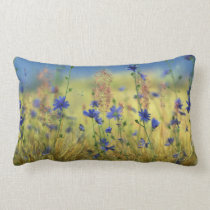 Sapphire & Gold Pillow