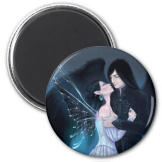 Sapphire Gothic Romance Fairy & Angel Magnet