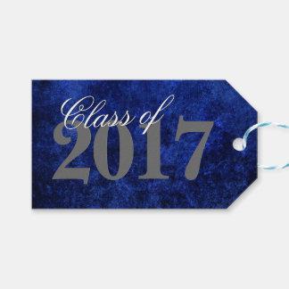 Sapphire Grad Cobalt Royal Azure Blue Party Theme Gift Tags