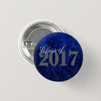 Sapphire Graduate Announcement Blue Grad Party Pinback Button