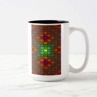 'Sapphire Light' Two-Tone Coffee Mug