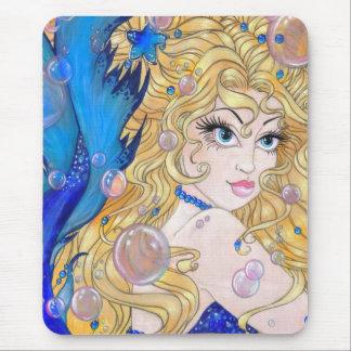 Sapphire Mermaid Mouse Pad