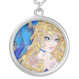 Sapphire Mermaid Necklace