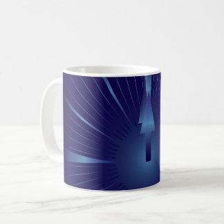 sapphire minute coffee mug