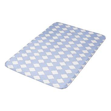 Professional Business Sapphire-Pale-Blue-Diamonds-Bath-Bed-RUGS-S-M-L Bathroom Mat