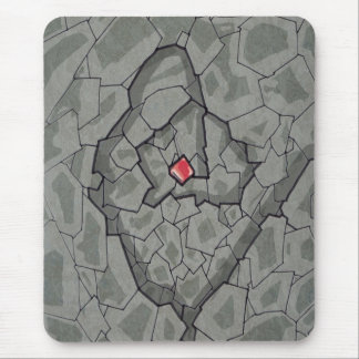 Sapphire rock mouse pad