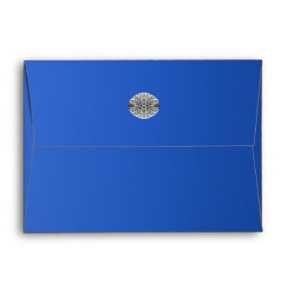 Sapphire Royal Blue Diamond Envelope