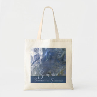 Sapphire - September Birthstone Bag