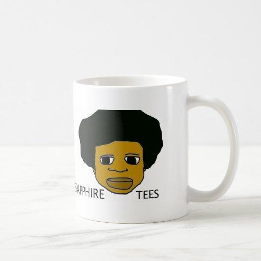 Sapphire Tees.tif Classic White Coffee Mug