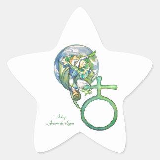 Sapphire Terra Star Sticker