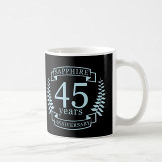 Sapphire Traditional 45th wedding anniversary Coffee Mug