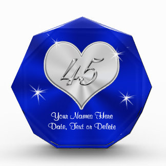 Sapphire Wedding Anniversary Gifts PERSONALIZED