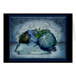 Sapphire Wedding Anniversary: Jupigio-Artwork.com Greeting Card