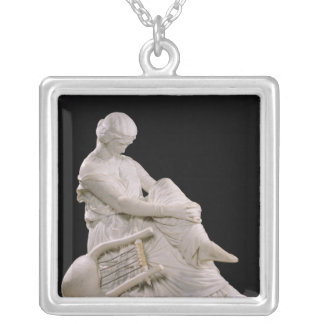 Sappho, 1852 silver plated necklace
