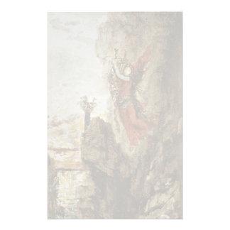 Sappho by Gustave Moreau Custom Stationery
