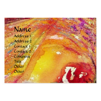 SAPPHO,DANCE MUSIC AND POETRY ,Gold Sparkles Large Business Cards (Pack Of 100)