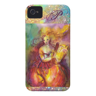 SAPPHO ,DANCE, MUSIC AND POETRY MONOGRAM iPhone 4 COVER