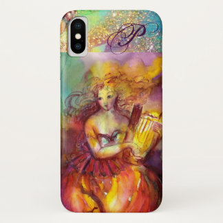 SAPPHO ,DANCE, MUSIC AND POETRY MONOGRAM iPhone X CASE