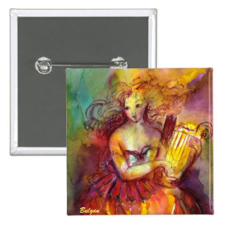 SAPPHO ,DANCE, MUSIC AND POETRY PINBACK BUTTON