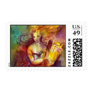 SAPPHO ,DANCE, MUSIC AND POETRY POSTAGE