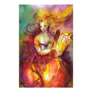 SAPPHO ,DANCE, MUSIC AND POETRY STATIONERY