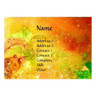 SAPPHO DANCE,MUSIC, POETRY Magic Butterfly Plant Large Business Cards (Pack Of 100)